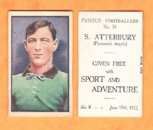 Plymouth Argyle Septimus Atterbury